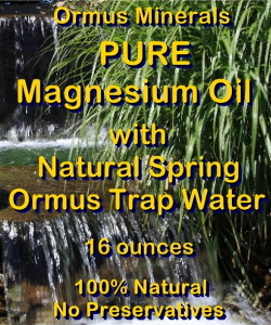 Ormus Minerals -Pure Magnesium Oil with Natural Spring Trap Water