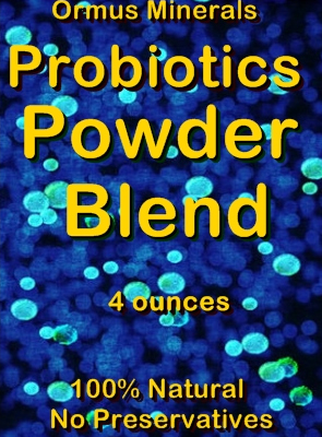Ormus Minerals -Probiotic Powder Blend