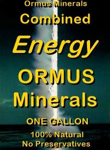 Ormus Minerals -Combined Energy ORMUS Minerals